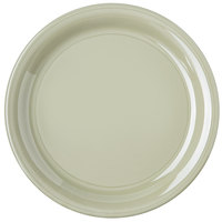 Carlisle 4300416 Durus 9 inch Firenze Green Narrow Rim Melamine Plate - 24/Case