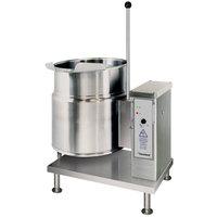 Cleveland KET-20-T 20 Gallon Tilting 2/3 Steam Jacketed Electric Kettle - 208/240V