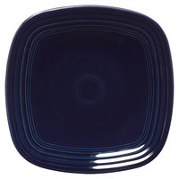 Homer Laughlin 920105 Fiesta Cobalt Blue 9 1/4 inch Square Luncheon Plate - 12/Case