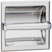 Bobrick B-6677 Recessed Toilet Tissue Dispenser with Satin Finish