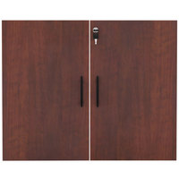 Alera ALEVA632832MC Valencia Series 31 1/4 inch Cherry Cabinet Door Set