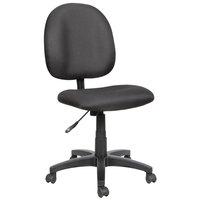 Alera ALEVT48FA10B Essentia Series Black Acrylic Swivel Task Chair