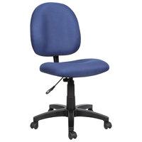 Alera ALEVT48FA20B Essentia Series Blue Acrylic Swivel Task Chair
