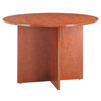 Alera ALEVA7142MC Valencia 42 inch Round Medium Cherry Conference Table