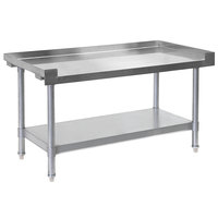 Bakers Pride HDS-48L (234800) 48 inch x 30 inch Stainless Steel Equipment Stand with Undershelf