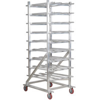 Winholt CR-162M Full Size Aluminum Mobile #10 and #5 Can Rack