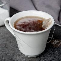Syracuse China 905437889 Elan 9 oz. Royal Rideau White Tall Porcelain Tea Cup - 36/Case
