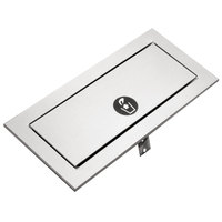 Bobrick B-527 TrimLineSeries Countertop Mounted Waste-Disposal Door with Satin Finish