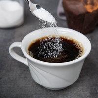 Syracuse China 905437888 Elan 8 oz. Royal Rideau White Low Porcelain Tea Cup - 36/Case