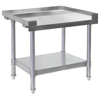 Bakers Pride HDS-24L (232400) 24 inch x 30 inch Stainless Steel Equipment Stand with Undershelf