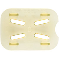 Cambro 80HPD150 1/8 Size Amber High Heat Drain Tray