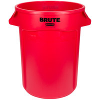 Rubbermaid FG263200RED BRUTE 32 Gallon Red Trash Can