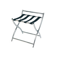 CSL 199SS-BL Luxury Series Stainless Steel Metal Luggage Rack