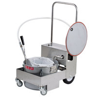 MirOil BD505 55 lb. Fryer Oil Electric Filter Machine and Discard Trolley