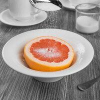 Syracuse China 909089709 Solario 13 oz. Round Royal Rideau White Porcelain Grapefruit Bowl - 36/Case