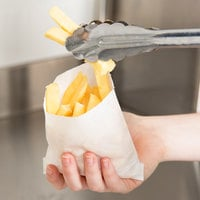 Carnival King 4 1/2 inch x 4 1/2 inch Medium French Fry Bag - 2000/Case