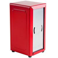 Tablecraft 2211 Tallfold Napkin Dispenser- Red