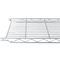 Metro 1242C 12 inch x 42 inch Erecta Chrome Wire Shelf