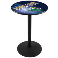 Holland Bar Stool L214B3628ND-LEP-D2 28 inch Round University of Notre Dame Pub Table