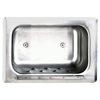 Bobrick B-4380 Recessed Stainless Steel Soap Dish