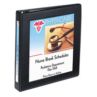 Avery 68054 Black Heavy-Duty Framed View Binder with 1 inch Locking One Touch EZD Rings