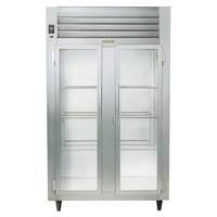 Traulsen RHT232DUT-FHG Stainless Steel Two Section Glass Door Narrow Reach In Refrigerator - Specification Line