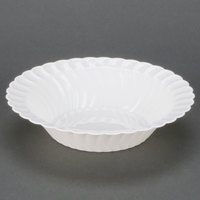 Fineline Flairware 212-WH White 12 oz. Plastic Bowl - 180/Case