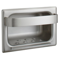 Bobrick B-4390 Recessed Stainless Steel Soap Dish and Bar