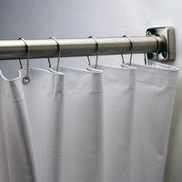 Bobrick 204-3 White Vinyl Shower Curtain - 70 inch x 72 inch