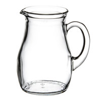 Libbey 13129021 8.5 oz. Small Glass Pitcher - 12/Case