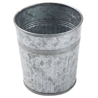 American Metalcraft GFC337 12 oz. Galvanized Metal French Fry Cup