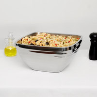 Vollrath 47637 Double Wall Square Beehive 8.2 Qt. Serving Bowl