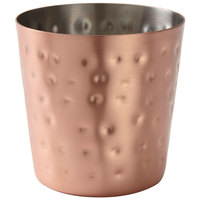 American Metalcraft FFCCH37 14 oz. Hammered Copper Plated French Fry Cup
