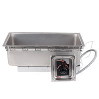 APW Wyott TM-90D UL High Performance Uninsulated One Pan Drop In Hot Food Well with Drain and UL Electrical Kit - 120V