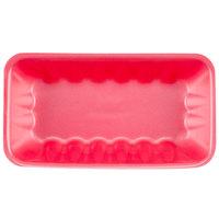 Genpak 1010K (#10K) Foam Meat Tray Rose 10 3/4 inch x 5 3/4 inch x 2 inch - 250/Case