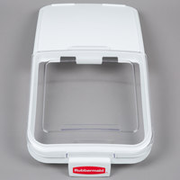 Rubbermaid FG9F7800CLR Replacement Lid with Scoop Hook for Rubbermaid FG360288WHT