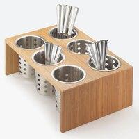 Cal Mil 1425-6-60 Bamboo Six Cylinder Display
