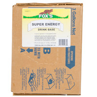 Fox's Bag In Box Super Energy Drink Syrup - 3 Gallon