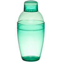 Fineline Quenchers 4102-GRN 10 oz. Green Plastic Shaker - 24/Case