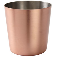 American Metalcraft FFCCS337 14 oz. Satin Copper Plated French Fry Cup