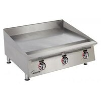 Star 872TA Ultra Max 72 inch Countertop Gas Griddle with Snap Action Controls - 180,000 BTU