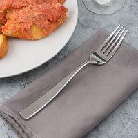 Bon Chef S3005 Manhattan 8 inch 18/10 Stainless Steel Extra Heavy Dinner Fork - 12/Case