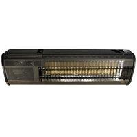 Schwank MO-2312-LP Liquid Propane Black and Stainless Steel Outdoor Patio Heater - 23,000 BTU