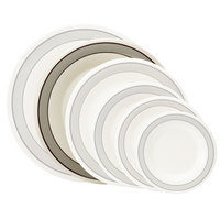 GET WP-10-CA 10 1/2 inch Diamond Cambridge Wide Rim Plate - 12/Case