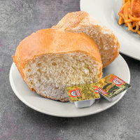 Carlisle 3302042 Sierrus 5 1/2 inch Bone Wide Rim Melamine Bread and Butter Plate - 48/Case