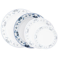 GET M-5080-B Water Lily 9 1/2 inch Melamine Plate - 12/Pack