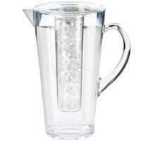 Cal-Mil 682-ICE 2 Liter Polycarbonate Pitcher with Ice Chamber