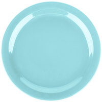 Carlisle 4385063 Turquoise Dayton 10 1/4 inch Melamine Plate - 48/Case