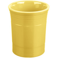 Homer Laughlin 447320 Fiesta Sunflower 6 5/8 inch Utensil Crock - 4/Case