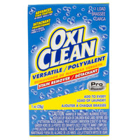 OxiClean 1 oz. Versatile Powder Stain Remover Box for Coin Vending Machine - 156/Case